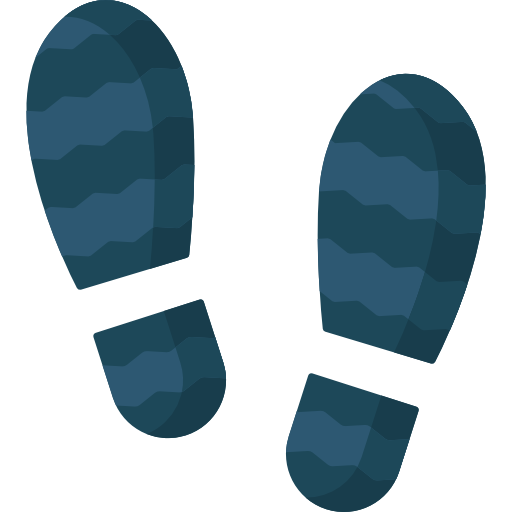 Footsteps Illustration